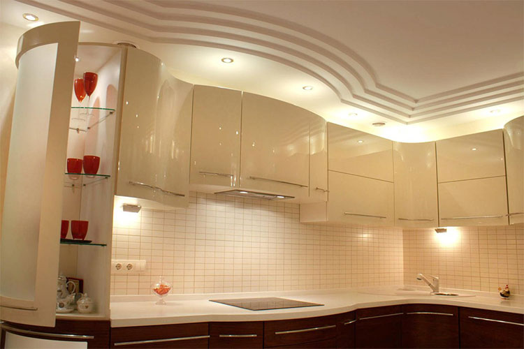 Controsoffitti in cartongesso roma controtelai pareti modulari - Controsoffitti in cucina ...