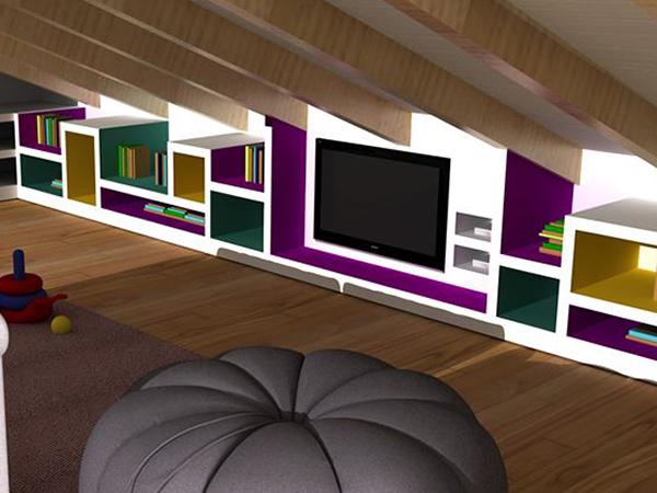 Pannello porta tv in cartongesso costruire una parete in cartongesso bricoliamo mobili in - Porta tv in muratura ...